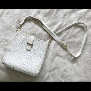 Gigi New York - Elle Crossbody Bag White